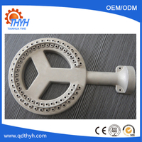 Customized die cast part for burner