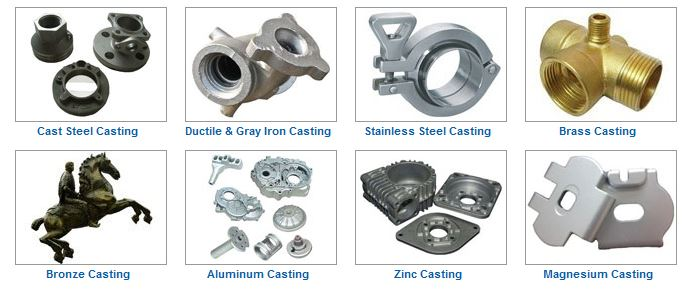 material of casting