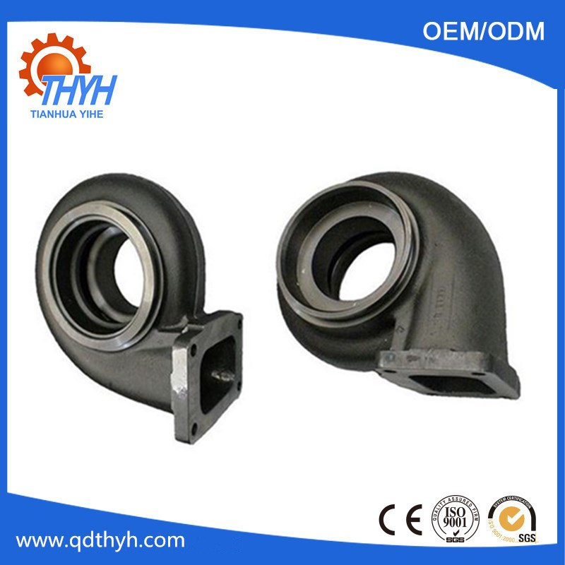Customized Sand Casting Ductile Iron Pump Housing With CNC Machining